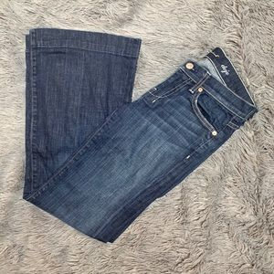 7 for all Mankind Dojo Jeans LIKE NEW - Size 25